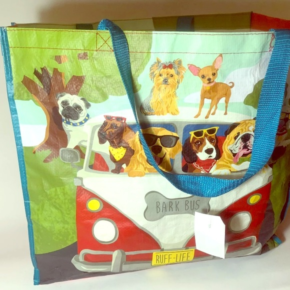 homegoods Handbags - Reusable Tote Bags Lot: Dogs. & VW Bus